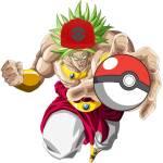 Broly challenge you to Pokémon battle before he starts traveling across moot  (Pokémon lounge