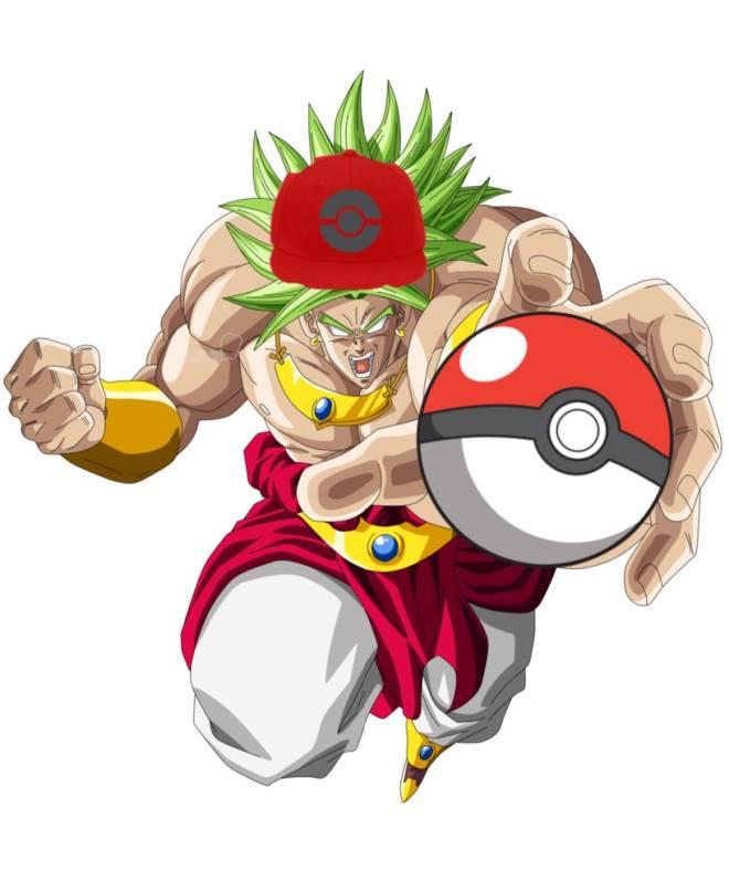 Pokemon: General - Broly challenge you to Pokémon battle before he starts traveling across moot  (Pokémon lounge image 1