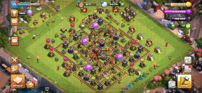 Clash of Clans: General - Push was crazy 💪🏻 image 2