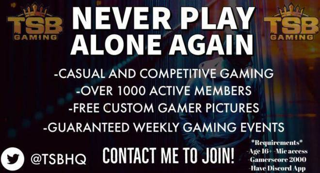 Call of Duty: Looking for Group - Interested in joining a gaming community? TSB has about 1100+ overall with Playstation, PC, and Xbox image 3