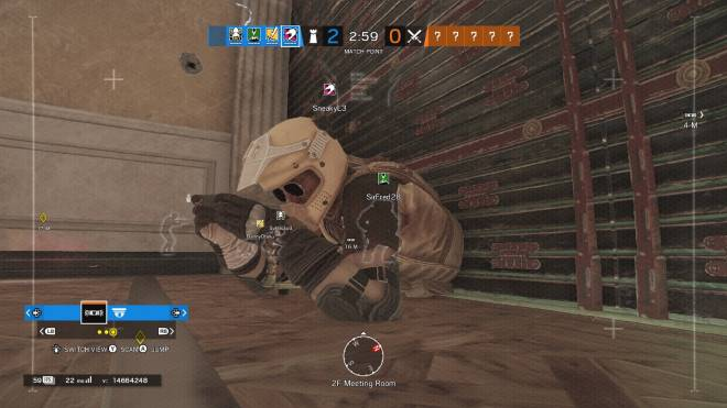 Rainbow Six: Memes - you think his feet were sticking out the other end?  image 1