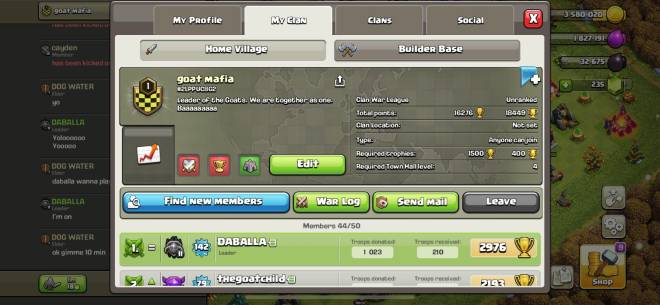 Clash of Clans: General - Looking for th8+ for war image 1