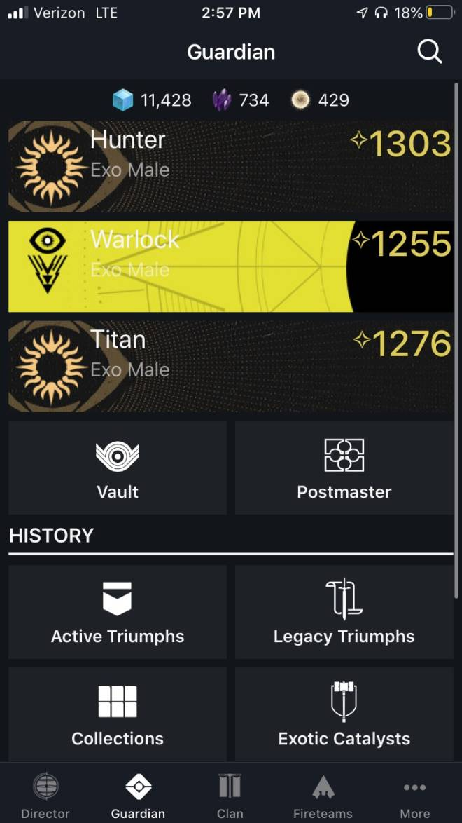 Destiny: General - Just hit 1303 after a week and a half into the new season🥳 image 1