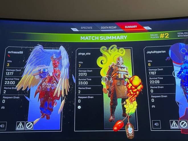 Apex Legends: General - Interesting ranked with randoms. image 1
