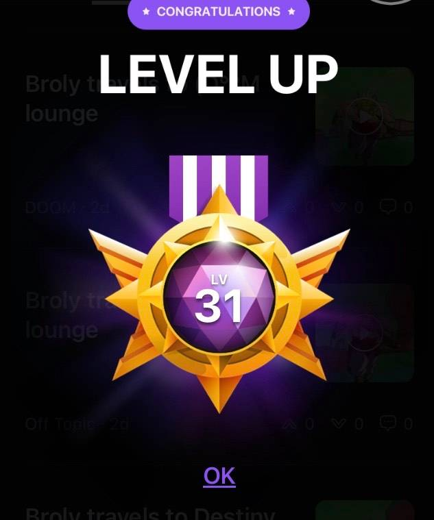 Off Topic: General - Damn this is most likely the last lvl up imma get on here ;-;  image 2