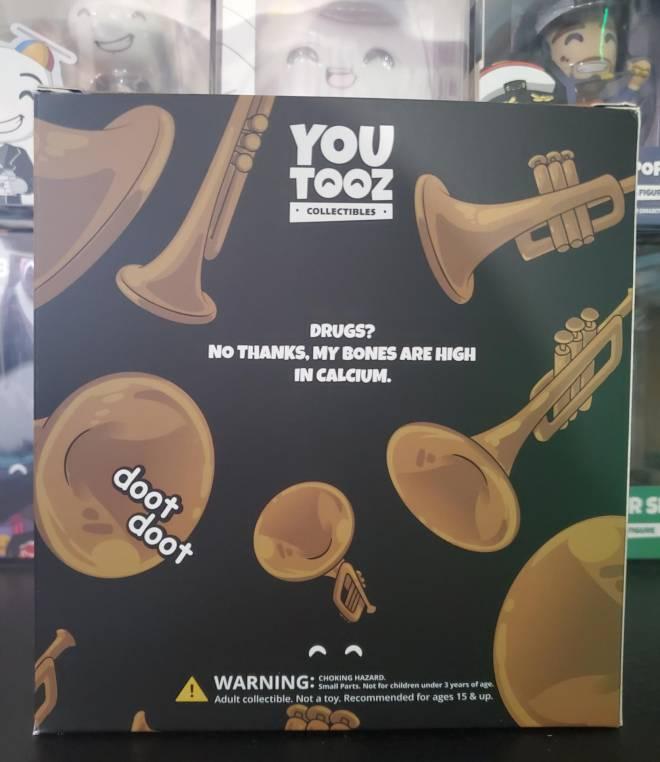 Off Topic: General - Limited Edition Doot Doot YouTooz Vinyl Figure! 💀🎺 image 8