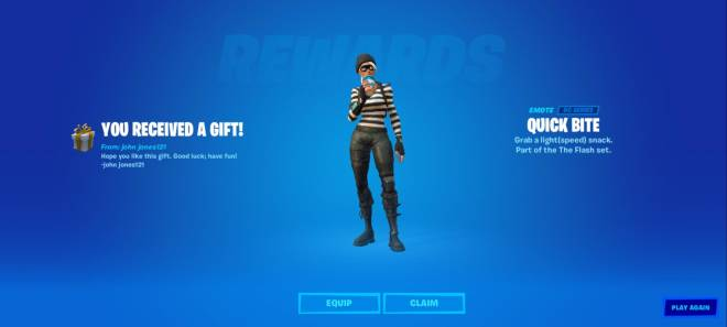 Fortnite: General - I forgot to give you a shout out on you gifting me this emote awhile back.  image 3