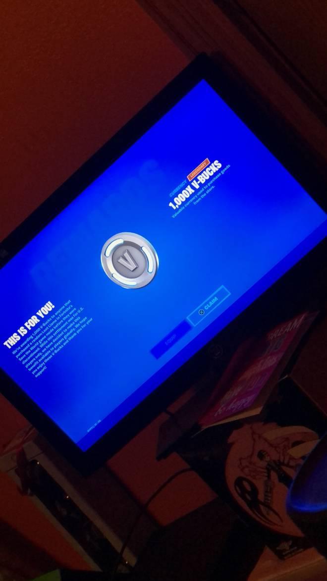 Fortnite: General - Who else got their vbucks ?? image 1