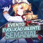 🎉 Evento Evolução Valente Semanal