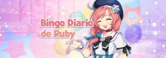 GrandChase - GLOBAL SP: Eventos - 🎉 Evento Bingo Diario de Ruby image 1