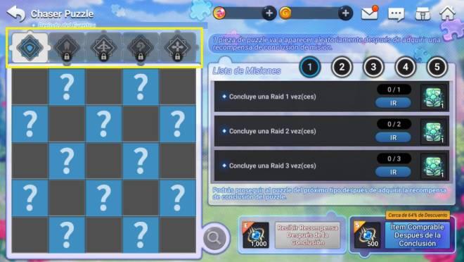 GrandChase - GLOBAL SP: Eventos - 🎉 Evento Grand Puzzle  image 5