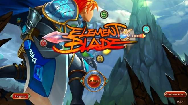 Element Blade: Free Board - Element Blade HACK N SLASH Action RPG I BOSS FIGHTS + APK N OBB image 3