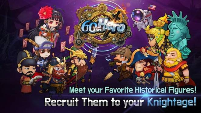 60 Seconds Hero: Idle RPG: Tips - 60 Seconds Hero, A Real 'God' Tier Idle RPG! image 3