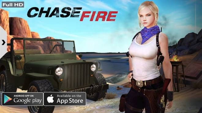 CHASE FIRE: Screenshots -  CHASE FIRE - iOS / ANDROID GAMEPLAY image 2