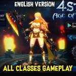 4Story: Age of Heroes - MMORPG first Gameplay (Android/IOS) / RPG game Android / RPG English