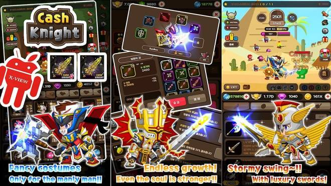Cash Knight - Finding my manager ( Idle RPG ): event - Cash Knight - Finding my manager Ruby Event Version Gameplay image 3