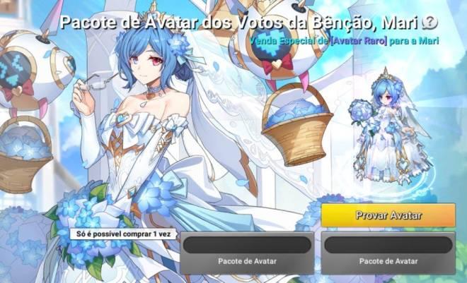 GrandChase - GLOBAL PT: Loja - 👑 Novo Avatar: Os Votos da Bênção, Mari image 3
