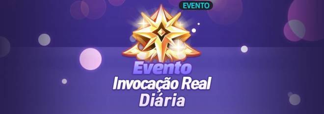 GrandChase - GLOBAL PT: Eventos - 🎉 Evento de Invocação Real Diária image 1
