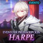 🎁 Preinscripción del Asistente, Harpe