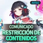 📣 Restricción de Contenidos: PvP