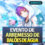 🎉 Evento de Arremesso de Balões de Água