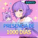 🎉 Evento de Acceso del Día 1000