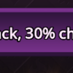 The S armor option giving 30% chance to heal is so bad.