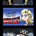 Can you... stop challenging me to battles?