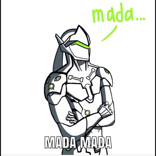 I Finally Figured Out What Genji S Mada Actually Means Overwatch This set has accumulated 243 points based on views and sharing you like it? moot