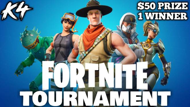 Fortnite: Promotions - $50 FORTNITE TOURNAMENT image 1
