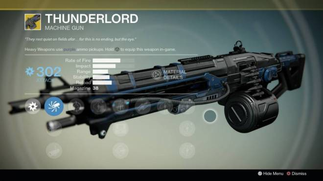 Destiny: General - How to get the Thunderlord Exotic machine gun image 1