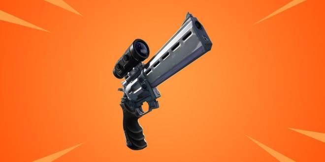 Fortnite: Battle Royale - Scoped Revolver coming soon to Fortnite Battle Royale image 1