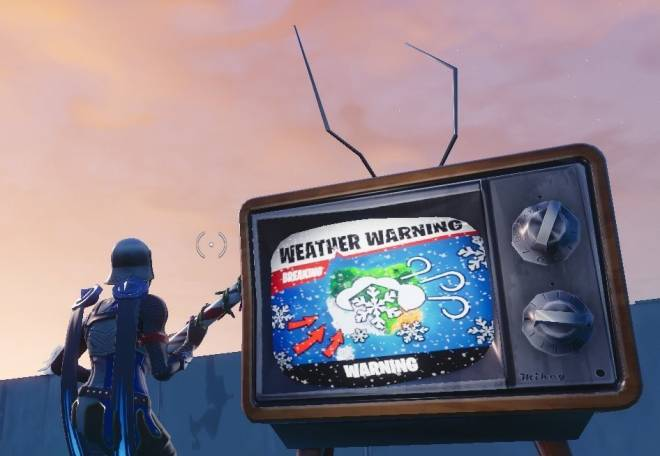 Fortnite: Battle Royale - BREAKING NEWS THE TVS ARE ON!  image 13