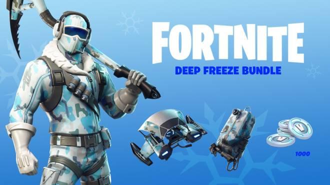 Fortnite: Battle Royale - DEEP FREEZE BUNDLE LEAVING SHOP IN A FEW DAYS  image 2
