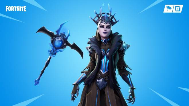 Fortnite: Battle Royale - 🚨 New Ice Queen & IceBringer PickAxe Now Available In The Item Shop 😮❄️🔥 image 1