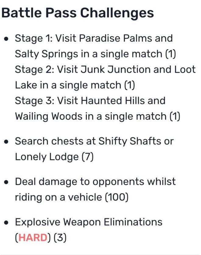 Fortnite: Battle Royale - ⚠️🚨 Week 8 Challenges & Hidden Banner Location 🚨⚠️ image 3