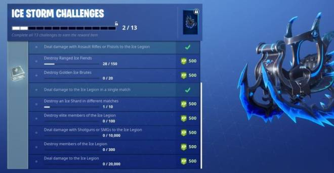 Fortnite: Battle Royale - FINAL ICE STORM CHALLENGE  image 1