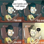 Every night