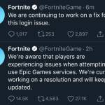 FORTNITE IS DOWN DONT WORRY NO ONE IS BANNED