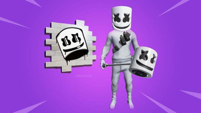 Fortnite: Battle Royale - 🚨⚠ Fortnite In-Game Marshmello Cosmetic Pack and Concert Leaked ⚠🚨 image 1