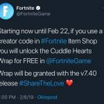 FORTNITE JUST TWEETED