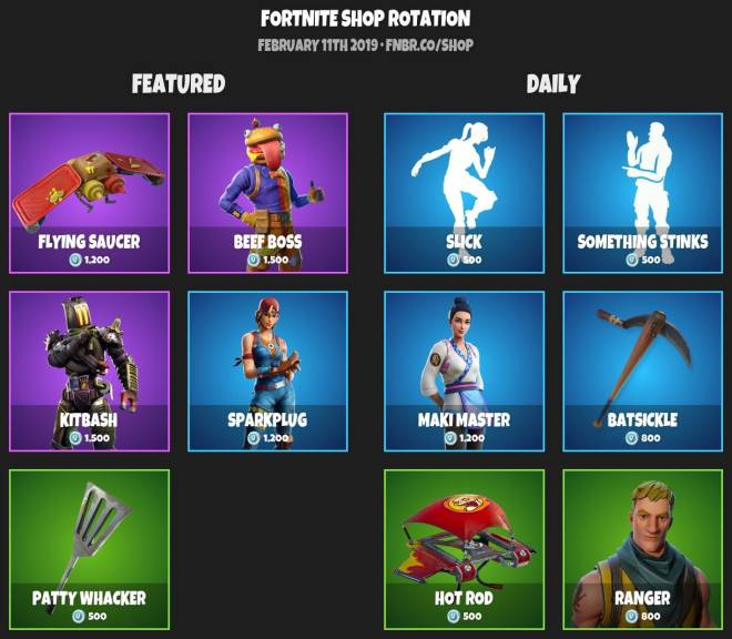 Fortnite: Battle Royale - 🚨ITEMSHOP 2-10-19🚨 image 2