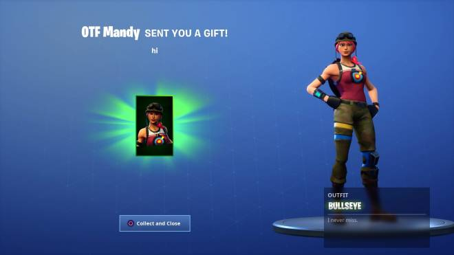 Fortnite: Battle Royale - Which Gift that I have gotten is the best one so far? Vote Now! 👌 image 3