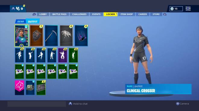 Fortnite: Battle Royale - Which Clinical Crosser Combo is better?? image 3