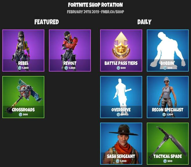 Fortnite: Battle Royale - 🐻ITEMSHOP 2-23-19🐻 image 2