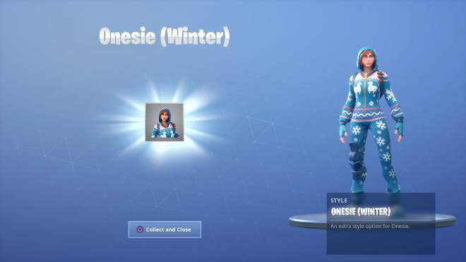 Fortnite: Battle Royale - I'm slow, but I got the Onsie Style 😊👌 image 2