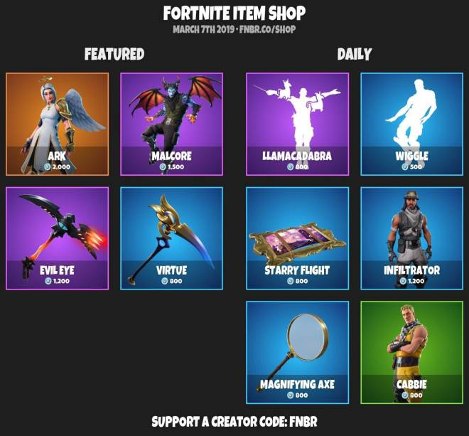 Fortnite: Battle Royale - ☠️ITEMSHOP 3-6-19 ☠️ image 6