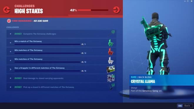 Fortnite: Battle Royale - GETAWAY CHALLENGE  image 1