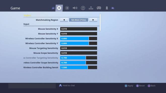 Fortnite: Battle Royale - xFury's Controller Binds & Sensitivity  image 3