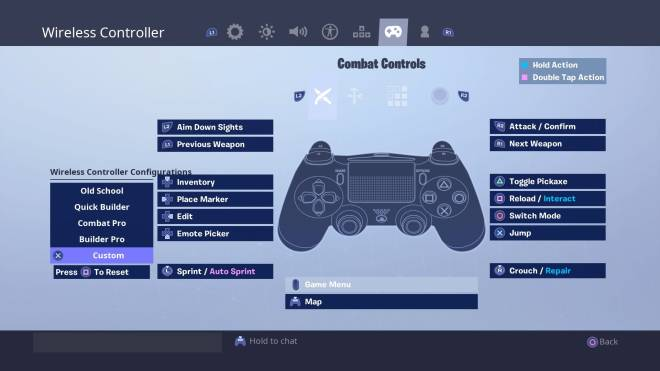 Fortnite: Battle Royale - xFury's Controller Binds & Sensitivity  image 2